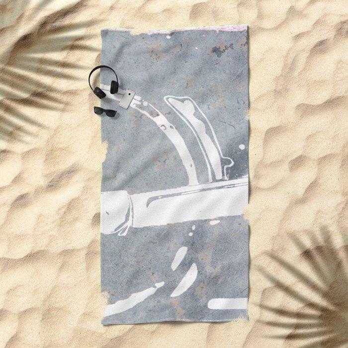 engine III Beach Towel