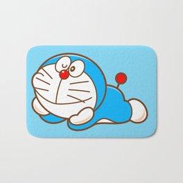 Doraemon cute smile Bath Mat