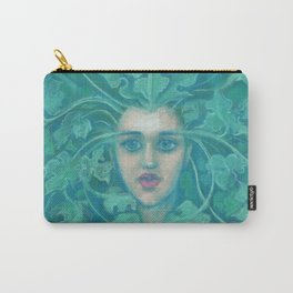 Green Lady / Forest Queen Carry-All Pouch
