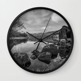 Llyn Gwynant Wall Clock