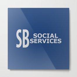 South Bay SS Logo Metal Print
