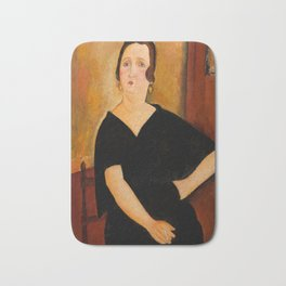 "Amedeo Modigliani ""Madame Amédée"" Bath Mat"