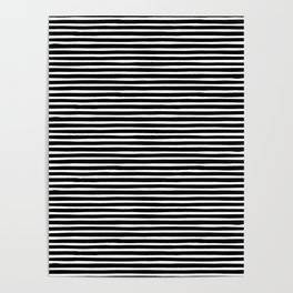 Stripes, Print, Minimal, Scandinavian, Abstract, Pattern, Modern art Poster