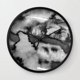 Grey force growing Wall Clock