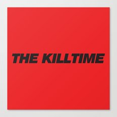 KillTime Red Canvas Print