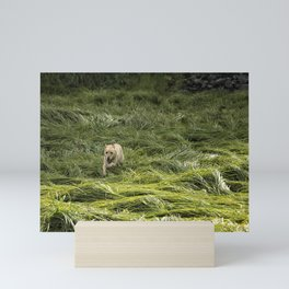 Happiness is Running Through a Field of Grass Mini Art Print