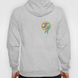 Mermaid Pin-up Hoody