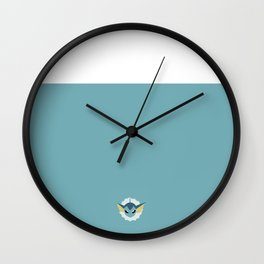 Vaporeon Wall Clock