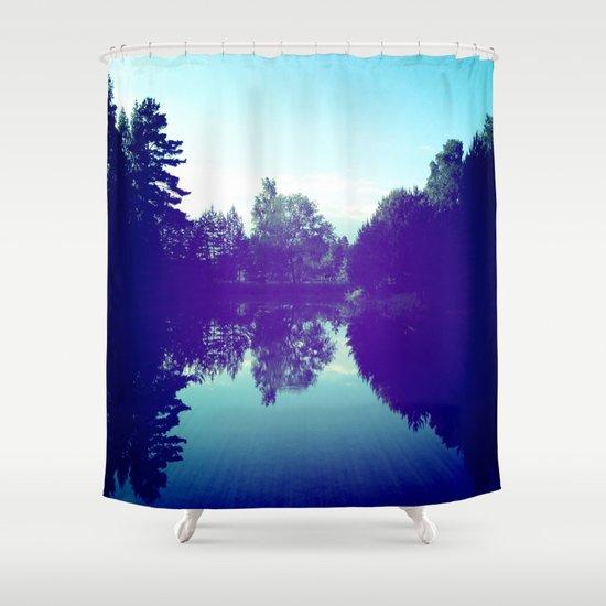 Reflection Shower Curtain