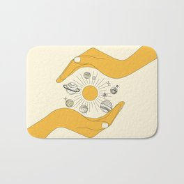 The Universe in Your Hands Bath Mat