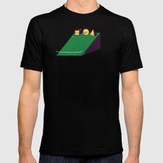 Hill race MEDIUM Black Mens Fitted Tee