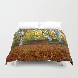 Autumn Trees Woodland Duvet Cover