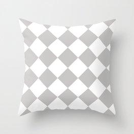 Sexy Checkers Throw Pillow