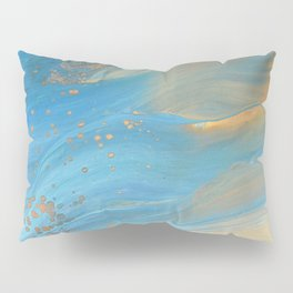 Fairy Wings: Acrylic Pour Painting Pillow Sham