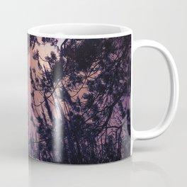 Moonlight Sonata (Tree and Reed Plant Silhouette) Coffee Mug