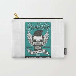 Barber Shop New York Carry-All Pouch