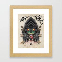 The Howling Framed Art Print