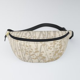 weeds neutrals Fanny Pack