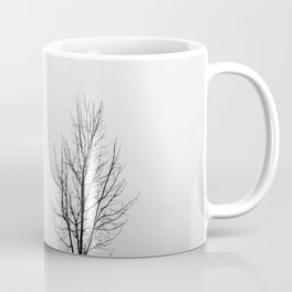 Minimal Winter Tree Coffee Mug