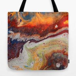 Fiery closeup Tote Bag