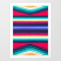 surf Art Prints featuring SURF by Nika