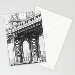 Manhattan Bridge Empire State Stationery Cards