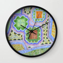 Gardening Plans  Wall Clock