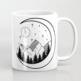 Warrior's Moon Coffee Mug