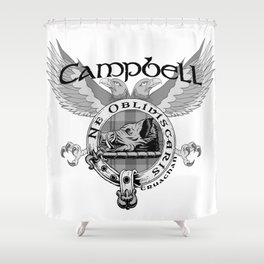 CAMPBELL FAMILY CREST Shower Curtain