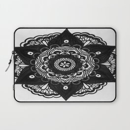 Flower Mandala Number 2 Laptop Sleeve