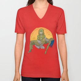 She Creature from the Black Lagoon Unisex V-Neck