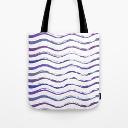 Ultraviolet waving Tote Bag