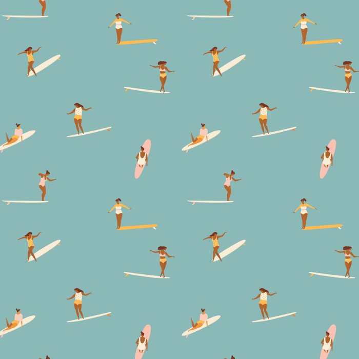 Surf girls Leggings