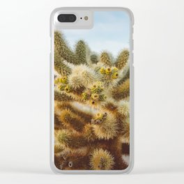 Cholla Cactus Garden IV Clear iPhone Case