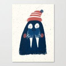 Wally The Walrus Canvas Print