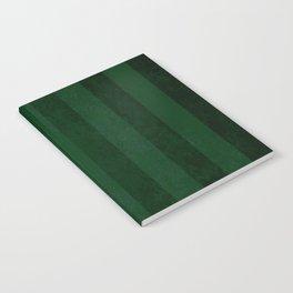 Emerald Stripes Notebook