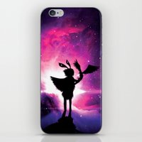 universe iPhone & iPod Skins featuring Universe by Lunzury