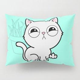 Kitty Knows Sign Language Pillow Sham