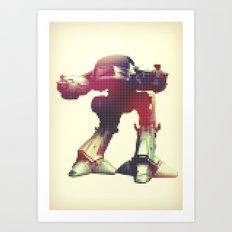 Rodot: ED-209 Art Print