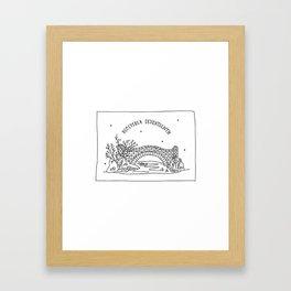 December Seventeenth Framed Art Print