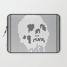 Skull Tile Laptop Sleeve