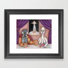 The Alien Ambassadors Framed Art Print