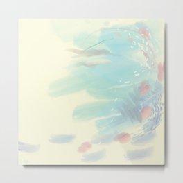 Cloudy Mindscape Metal Print