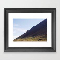Obliquo, Iceland Framed Art Print