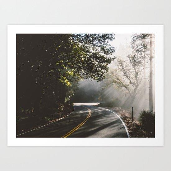 road to life Art Print