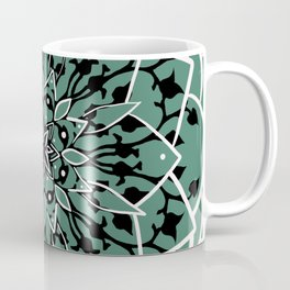 Succulent Star Design Coffee Mug