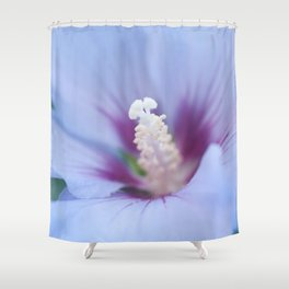 Soft Purple Hibiscus Flower #1 #art #society6 Shower Curtain