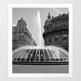 Genoa Art Print