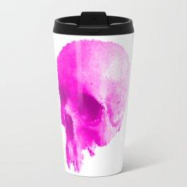 PINK HUMAN SKULL Travel Mug