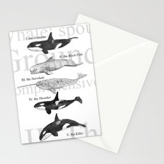 II. The Octavo Whale Stationery Cards
